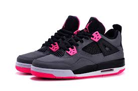 air jordan shoes for girls grey. 2015 air jordan 4 gs black grey hyper pink for sale-5 shoes girls