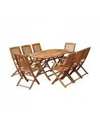 accacia wood dining table
