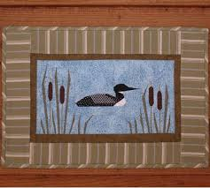 bass fish quilt pattern | McKenna Ryan Calling Me Home All A Loon ... & bass fish quilt pattern | McKenna Ryan Calling Me Home All A Loon in the  Midst (Block 7) Loons ... | sewing ideas | Pinterest | Fish quilt, Patterns  and ... Adamdwight.com