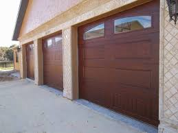 wooden wood garage door panels pleasant faux doors amazing mesmerizing ideas of installation post fibergl paint metal to look like automatic