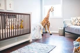 Modern Safari Themed Nursery  Project Nursery  elephant nursery lamp