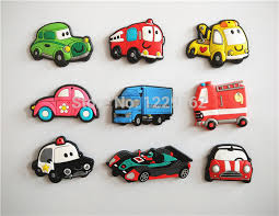 refrigerator magnets. free shipping (9pcs/lot) cartoon car fridge magnets whiteboard sticker silicon gel refrigerator educational kids gift-in from home l