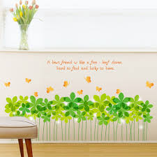 Home Decoration Accessories Wall Art Garden Grass Stickers Wall Sticker Wall Art Home Decoration 59