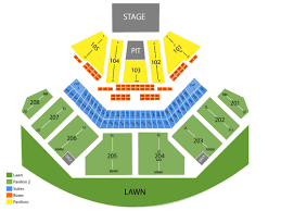 Tinley Park Amphitheater Seating Chart