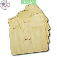 wooden recipe box 4x6 nine wood recipe card dividers wooden recipe box 4x6 bamboo recipe card box