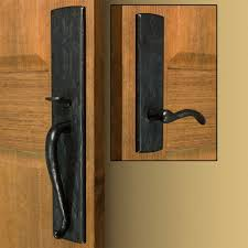 Rustic Front Door Handles Dummy Left A Throughout Innovation Design