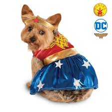 Rubies Dog Costume Size Chart Rubies Pet Dress Ups Wonder Woman Costume