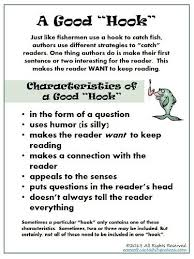 best example of simple sentence ideas examples characteristics of a good hook this reading mama great directions