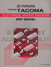 2007 toyota tacoma pickup wiring diagram manual original 2002 toyota tacoma wiring diagram pdf at 2004 Toyota Tacoma Wiring Diagram