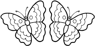 Color Pages Kids N Fun Coloring Pages Butterflies Coloring 66161