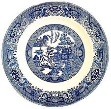 Blue And White China Pattern Custom BlueWillowChinaBuyingGuide
