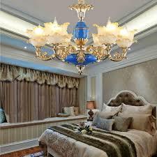 bedroom chandelier hanging lights decoration