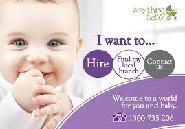 baby equipment hire melbourne and perth