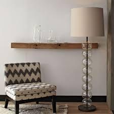 glass floor lamp. Abacus Floor Lamp - Glass