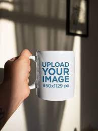 Top view mug cup take away coffee vector collection. Mug Mockups Mockup Generator Placeit