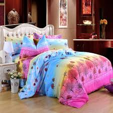 Peace Sign Bedroom Full Size Pink Blue Modern Peace Sign Bedding Teen Girls Twin