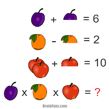 brain teaser number and math puzzle hard puzzle for genius look at the