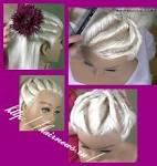 Жгуты для волос фото