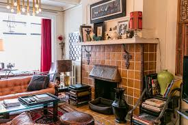 cozy furniture brooklyn. This Crown Heights Home Has All The Hallmarks Of A Truly Cozy Place Fireplace Plenty Books Lots Places To Sit And Wellloved Livedin Vibe Furniture Brooklyn