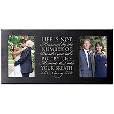 amazon com personalized parent wedding gifts, picture frame for Wedding Gifts For Parents Frames personalized wedding picture photo frame gift for bride and groom life is not measured by the wedding gift for parents picture frame