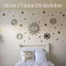 Polka Dot Bedroom Gold Polka Dot Decal Etsy