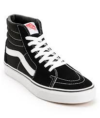 vans shoes white and black. vans sk8-hi black \u0026 white skate shoes and a