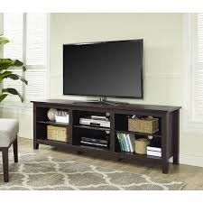 tall tv console. Whalen 3-In-1 Black Tv Console For Tvs Up To 70\u0026quot;, Tall