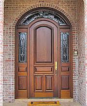 arched front doorArched Top Doors Radius Top Doors