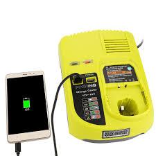 Ryobi P117 No Lights 3a 12v 14 4v 18v For Ryobi P117 Rechargeable Battery Charger Battery Pack Power Tool Ni Cd Ni Mh
