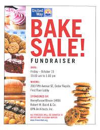 bake quotes like success bake fundraiser flyer