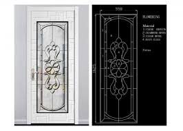 theft proof bevel translucent stained glass window panels 10 years warranty images