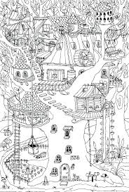 Download Tree Coloring Pages Kids Pinterest Magic Tree Houses Free