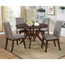 mid century modern dining room table. Furniture Of America Katrin Mid-Century Modern Style 48-inch Round Walnut Dining Table Mid Century Room A