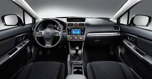 subaru impreza 2015 hatchback interior. inside the changes are more apparent starting with center stack finally impreza has a fully integrated properly fitting infotainment unit subaru 2015 hatchback interior d
