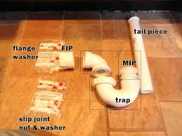 bathroom p trap bathroom sink waste trap leaking