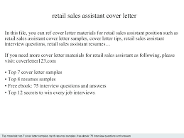 Cover Letter For Assistant Manager Position In Retail Cover Letter For Sales Assistant Store Assistant Cover Letter Retail
