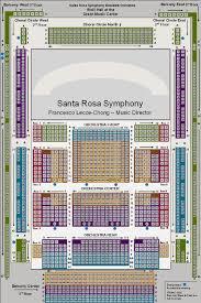 Wells Fargo Center For The Arts Santa Rosa Seating Chart Seating Charts At Santa Rosa Symphony