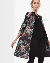 ted baker honibea antique botanical coat ted baker jumper in tangled fl print ted