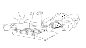 LEGO® Juniors Lightning McQueen Coloring Page - Coloring pages ...
