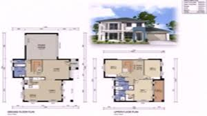 floor plans with dimensions two y story small house small house plans 2 story small double y house plans south africa