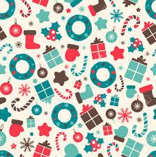 Christmas Pattern Background Beauteous Retro Style Christmas Patterns Winter Background Endless Texture
