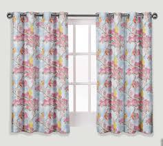 S4sassy Blüte Taube Fenster Kurz Lang Vorhang öse Bedruckte