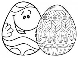 Small Picture Coloring Pages Free Printable Easter Egg Coloring Pages For The