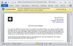 Outlook Attachments Open As Read Only Disable Protected View