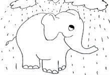 Elefante Elmer Disegni