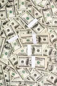 Huge stack of prop money stock photo ...