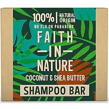Faith in Nature Coconut & <b>Shea Butter</b> Shampoo <b>Bar</b> | Official Site
