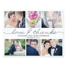wedding thank you cards & invitations zazzle co uk Wedding Thank You Cards No Pictures lovely writing wedding photo thank you card white wedding thank you cards photo