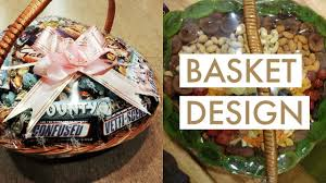 how to make decorative gift basket indian wedding basket decoration