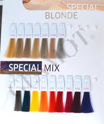 Wella Professionals Koleston Perfect Me Color Chart
